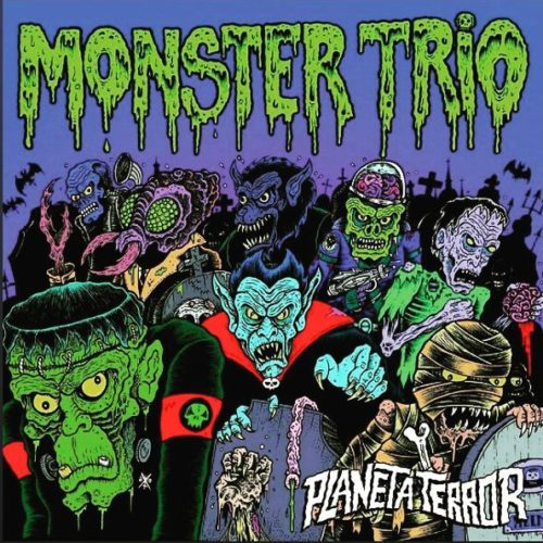 monster trio horror punk planeta terror
